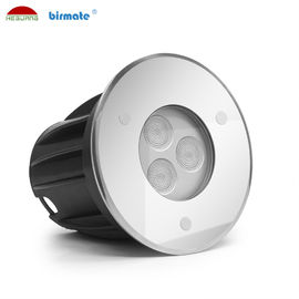 Porcellana La luce subacquea di messa a terra LED di alta efficienza, stagno di Inground accende 3W la CC 24V fabbrica